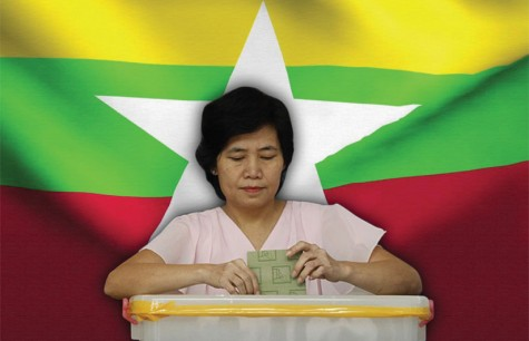 ALL EYES ON THE MYANMAR ELECTION