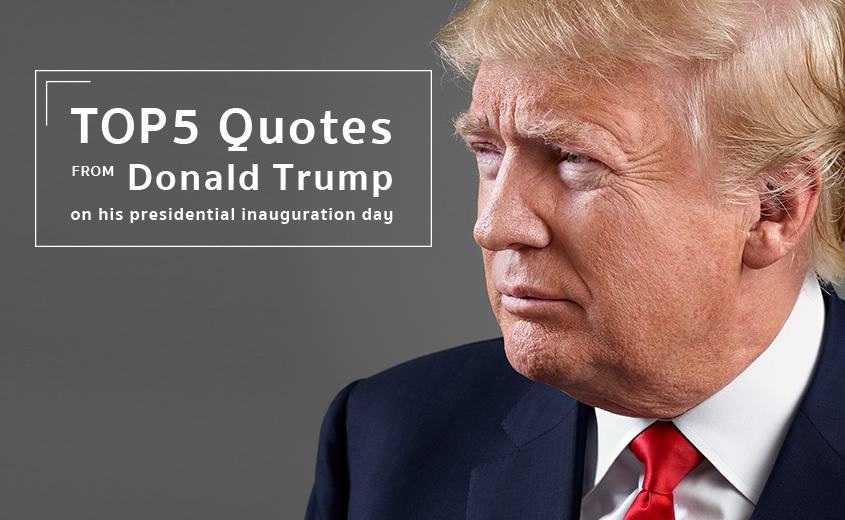 Donald trump 39 s top quotes from his inaugural address Donald trump residence address