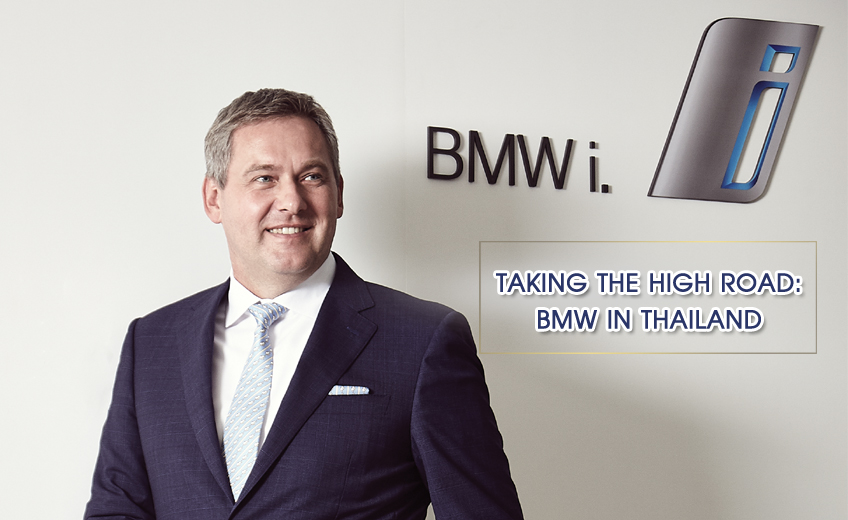 TAKING THE HIGH ROAD : BMW IN THAILAND