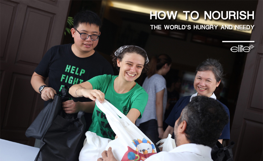How to Nourish the World's Hungry and Needy