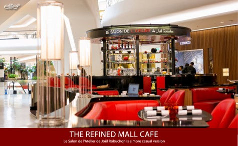 THE REFINED MALL CAFE'