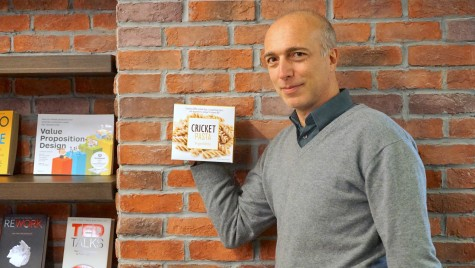Italian-led Thai company leads edible insects trend with cricket pasta
