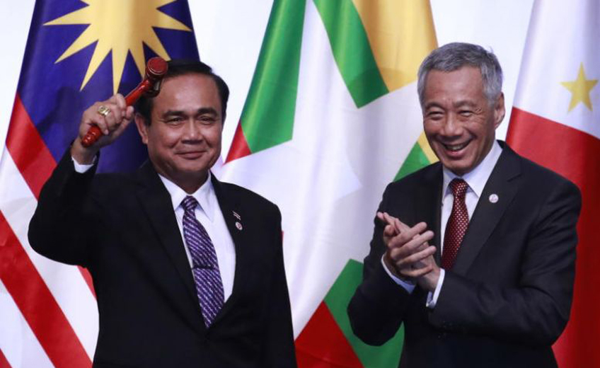 ASEAN chairmanship handed over to Thailand