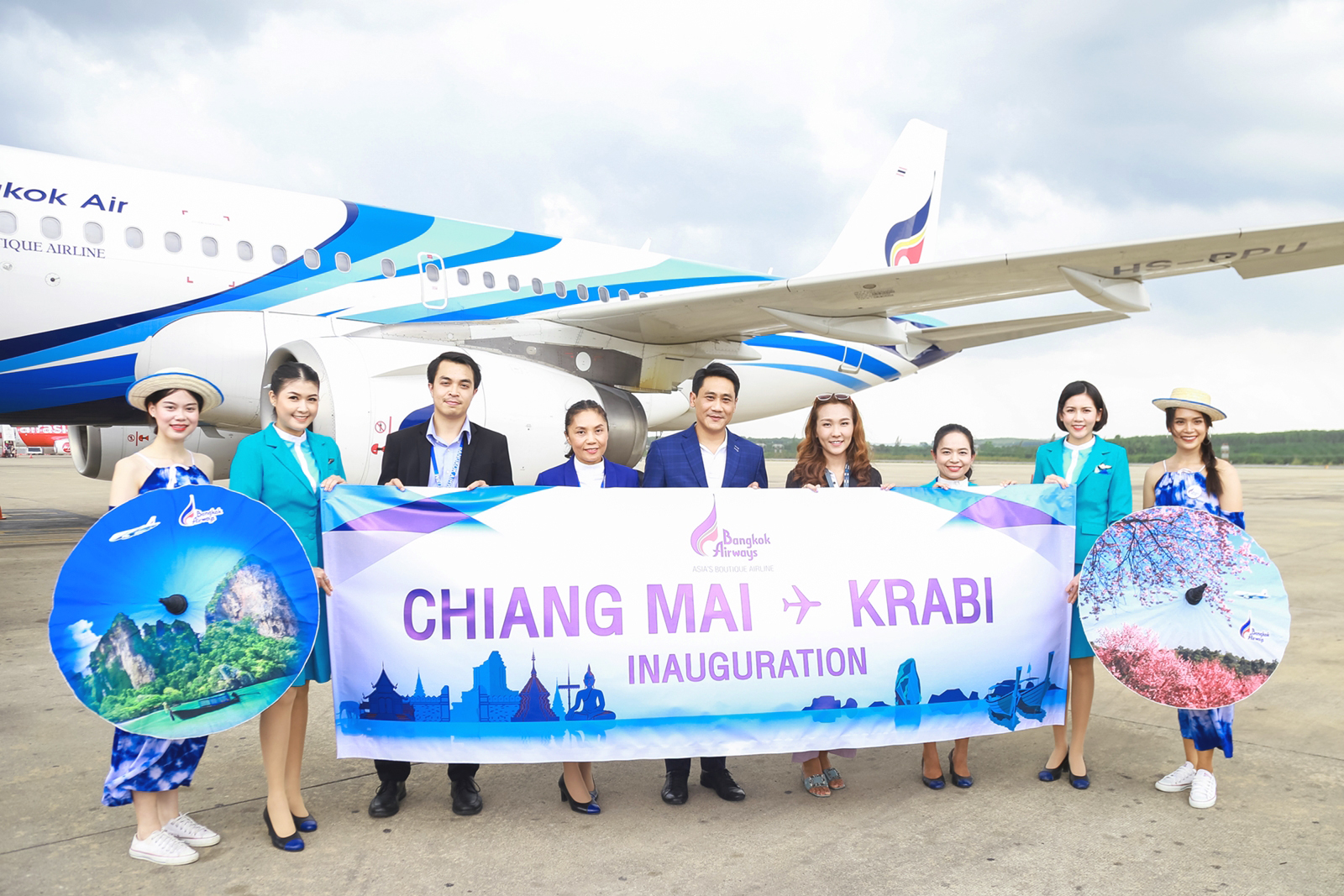 BANGKOK AIRWAYS  New service to Krabi