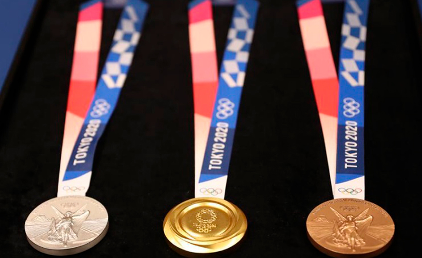 Olympic Medals Crafted from Recycled Gadgets