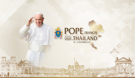Pope Francis to Visit Thailand 20-23 November