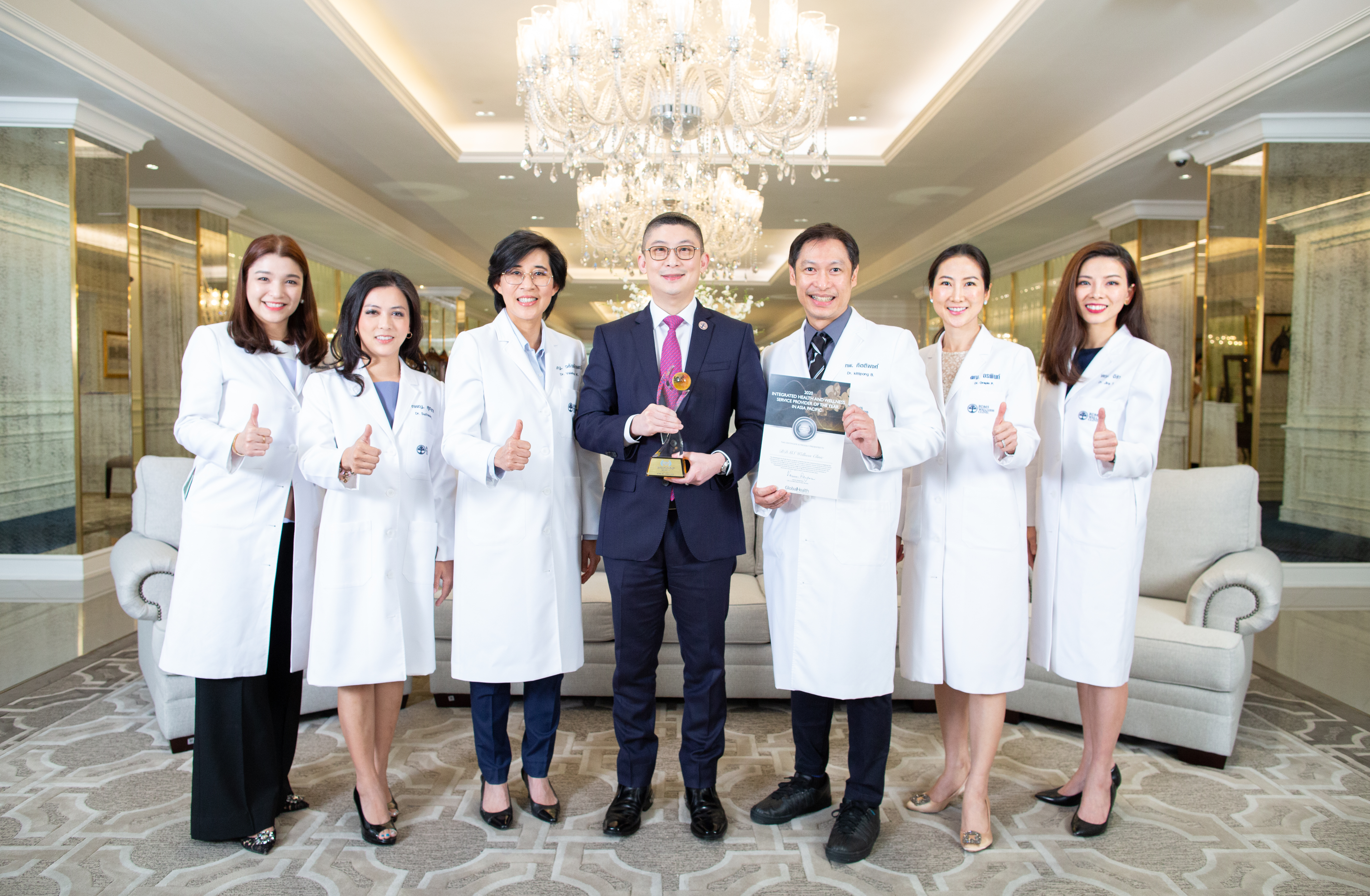 BDMS Wellness Clinic Named Asia-Pacific Integrated Health and Wellness Provider of 2020​