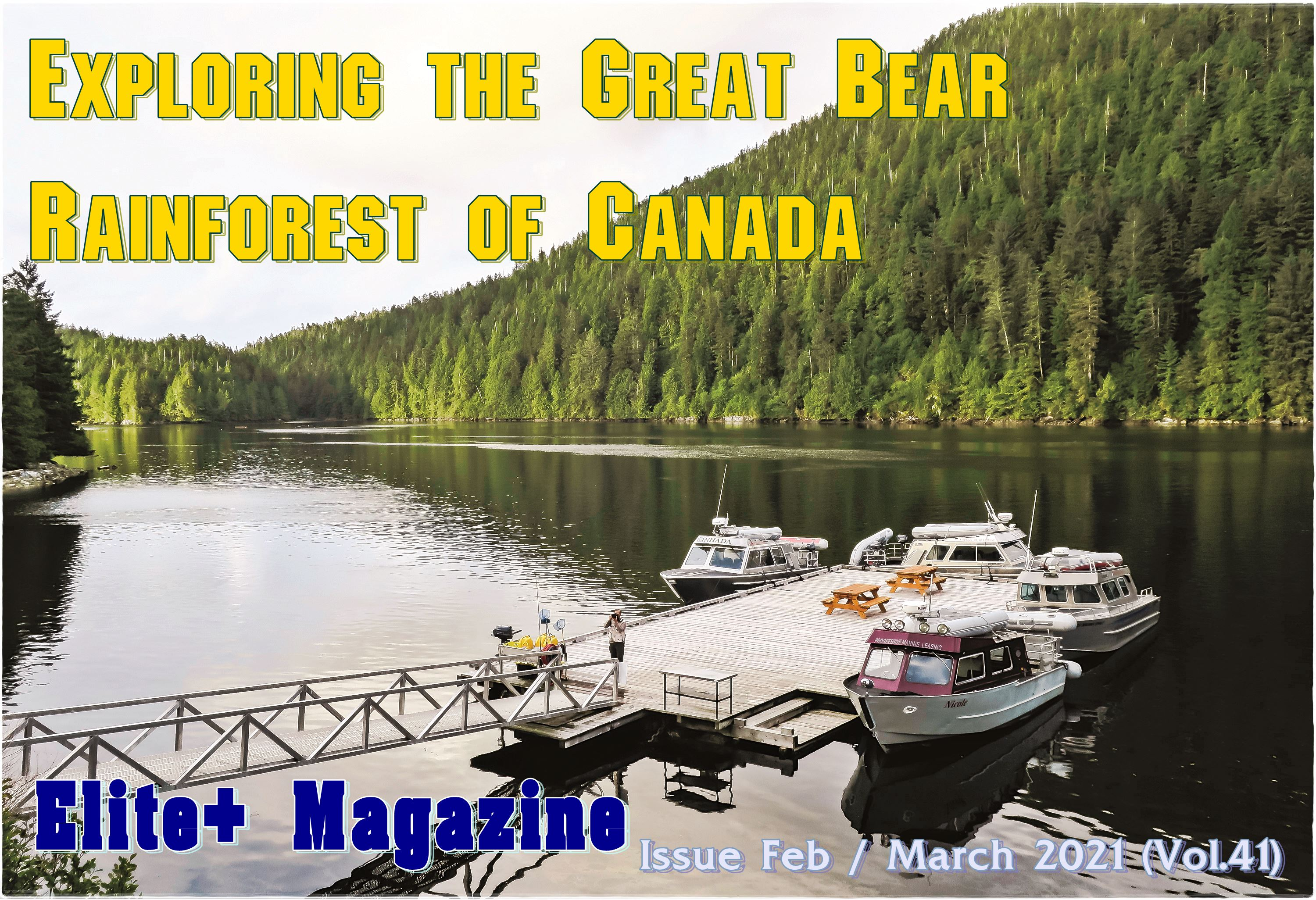 Exploring the Great Bear Rainforest of Canada
