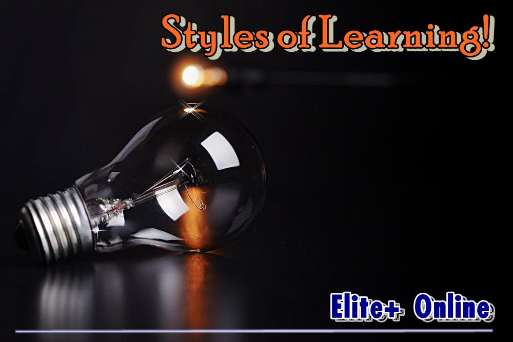 Styles of Learning!