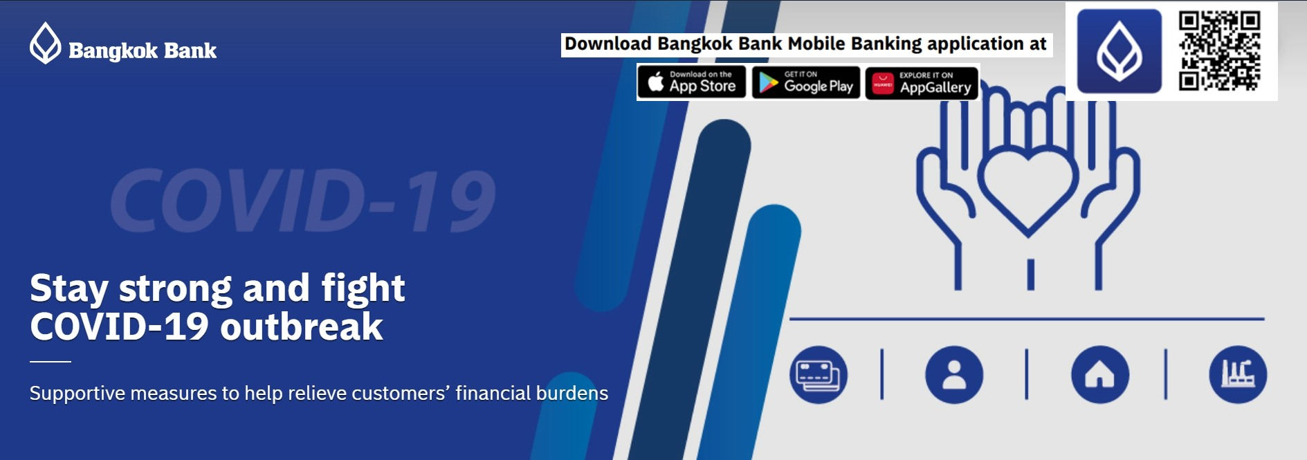 Bangkok Bank Extends Assistance to Retail Customers to 31 Dec 2021