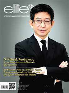 Dr Kobsak Pootrakool, a crystal-ball glimpse into Thailand's future economy