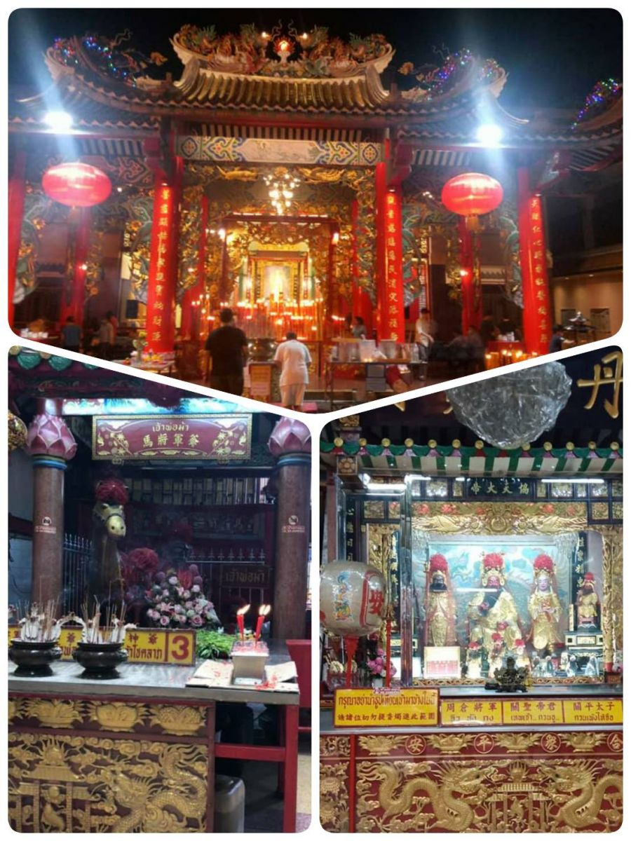 The list of Thai-Chinese temples culture in Bangkok