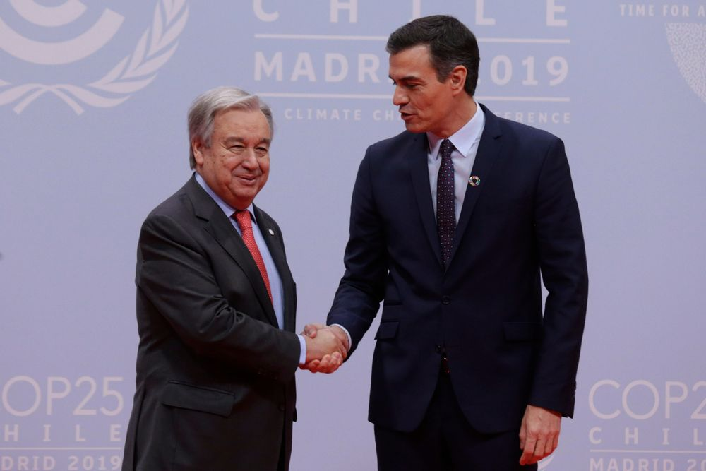 COP25 Has Begun 25th United Nations Climate Change Conference  2-13 December 2019, Madrid Spain