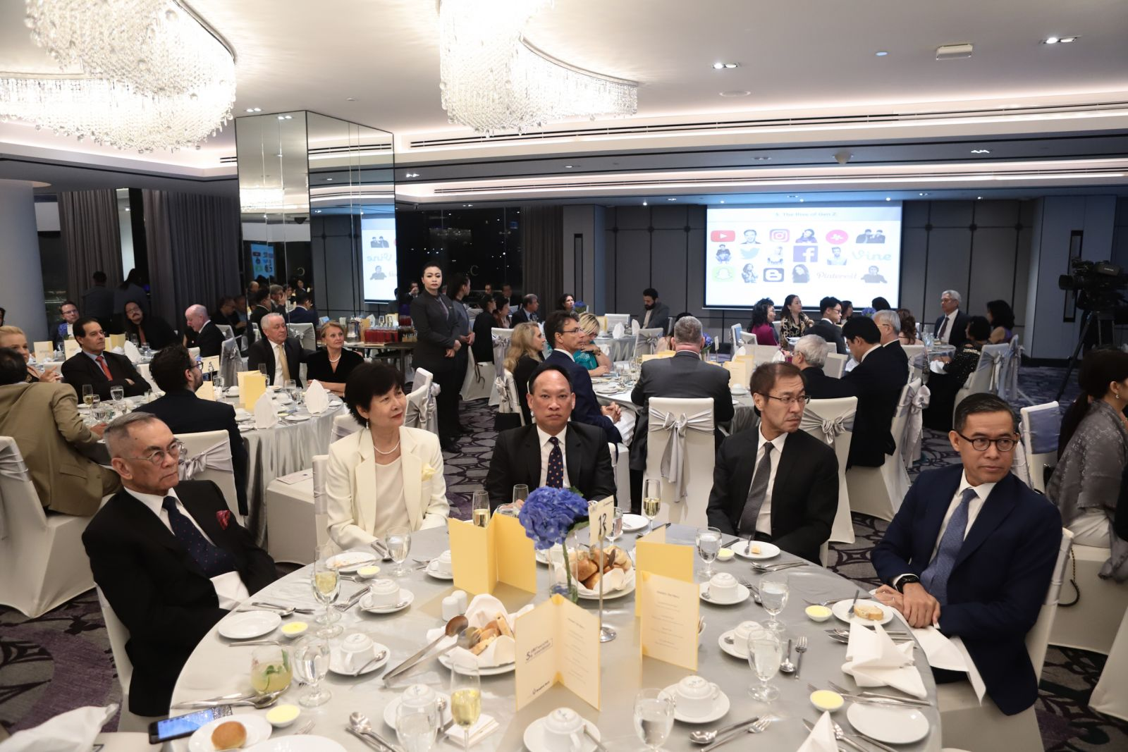 Elite 5th Anniversary gala dinner 2019