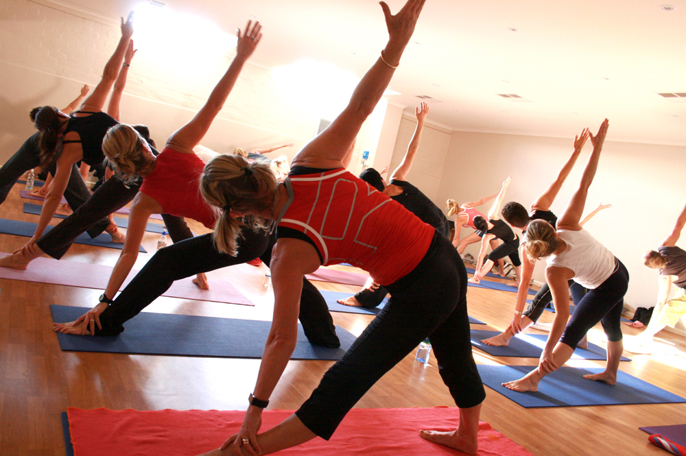 group yoga gyms