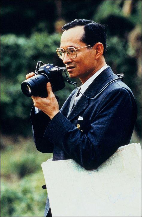 The great memories about King Rama IX