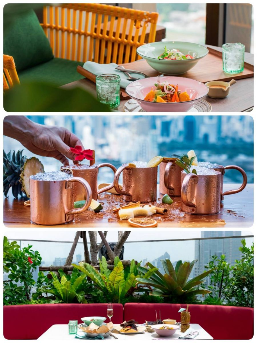 Chill out and relax around Bangkok with the recommended list of the Rooftop bar and restaurants (Part 2)